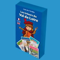 Jeu des 7 familles Les Trésors du Val de Loire pour enfants