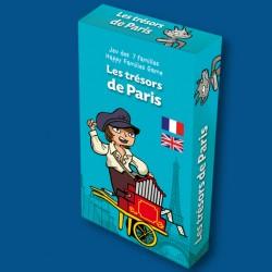 Jeu des 7 familles Les Trésors de Paris pour enfants