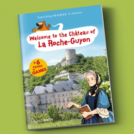 Welcome to the château of la Roche-Guyon