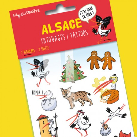 Tatouages Alsace, j'tai dans la peau ! pour enfants