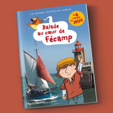 Livres pour enfants Balade au coeur de Fécamp