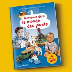 Livres pour enfants Bienvenue dans le monde des jouets