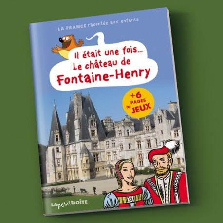 Livres pour enfants Le château de Fontaine Henri