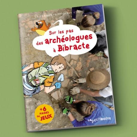 Livre pour enfants Sur les pas des archéologues à Bibracte