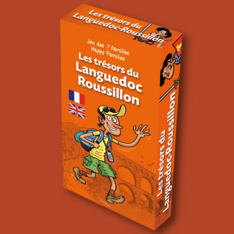 Jeu des 7 familles Les Trésors du Languedoc-Roussillon pour enfants