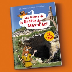 Livre pour enfants Les trésors de la Grotte du Mas d'Azil