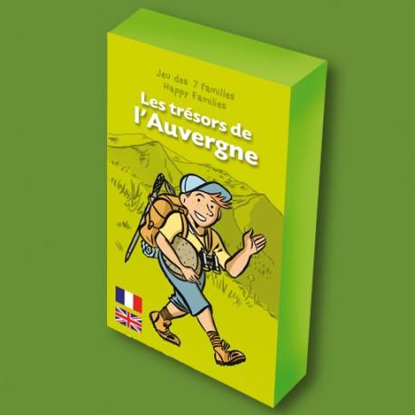 Jeu des 7 familles Les Trésors de l'Auvergne pour enfants