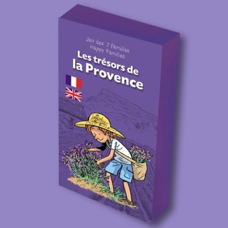 Jeu des 7 familles Les Trésors de la Provence pour enfants