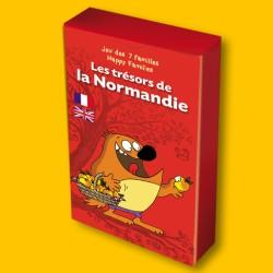 Jeu des 7 familles Les Trésors de la Normandie