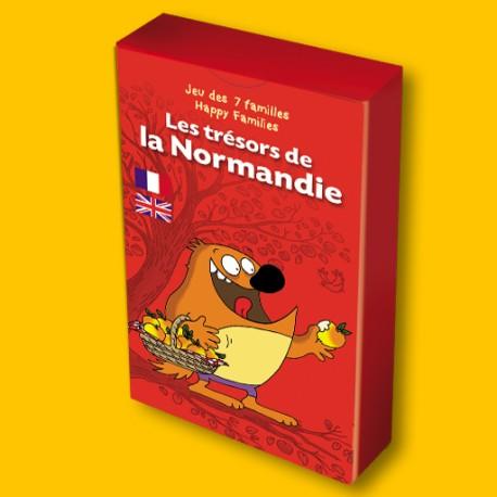 Jeu des 7 familles Les Trésors de la Normandie pour enfants