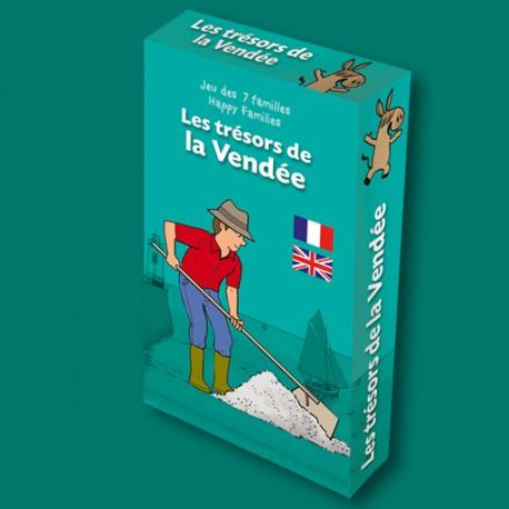 Jeu des 7 familles Les Trésors de Vendée pour enfants