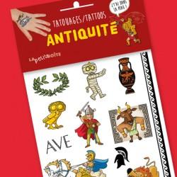 Tatouages L'Antiquité, j'tai dans la peau ! pour enfants
