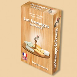Jeu des 7 familles Les fromages de France