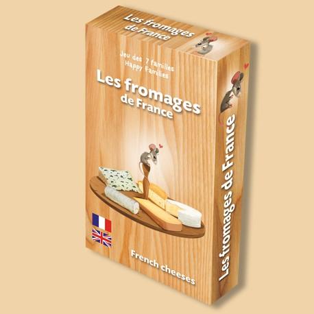 Jeu des 7 familles Les fromages de France pour enfants