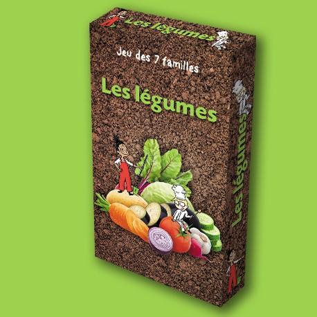 Jeu des 7 familles Les Légumes pour enfants
