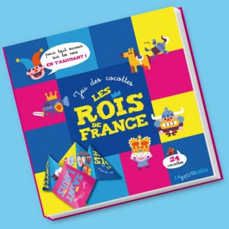 Livres pour enfants Jeu des cocottes Les Rois de France