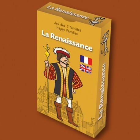 Jeu des 7 familles La Renaissance pour enfants