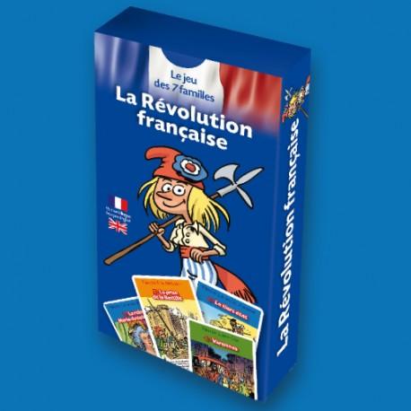 Jeu des 7 familles La Révolution française pour enfants