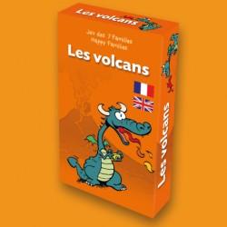 Jeu des 7 familles Les Volcans pour enfants
