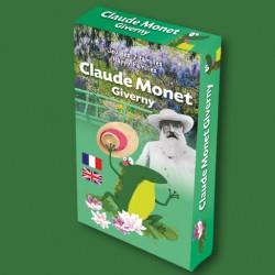 Jeu des 7 familles Claude Monet Giverny pour enfants
