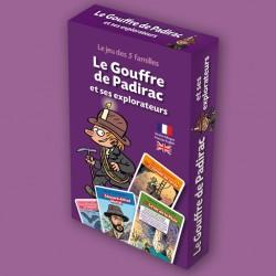 Jeu des 5 familles Le Gouffre de Padirac et ses explorateurs pour enfants