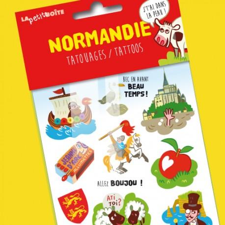 Tatouages Normandie, j'tai dans la peau ! pour enfants