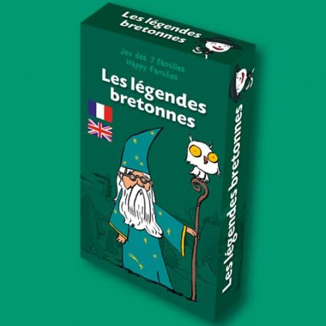 Jeu des 7 familles Les Légendes bretonnes pour enfants